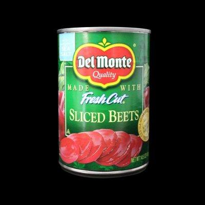 美国进口地扪红菜头罐头411g 地扪红菜头罐头切片红甜菜根 红菜头