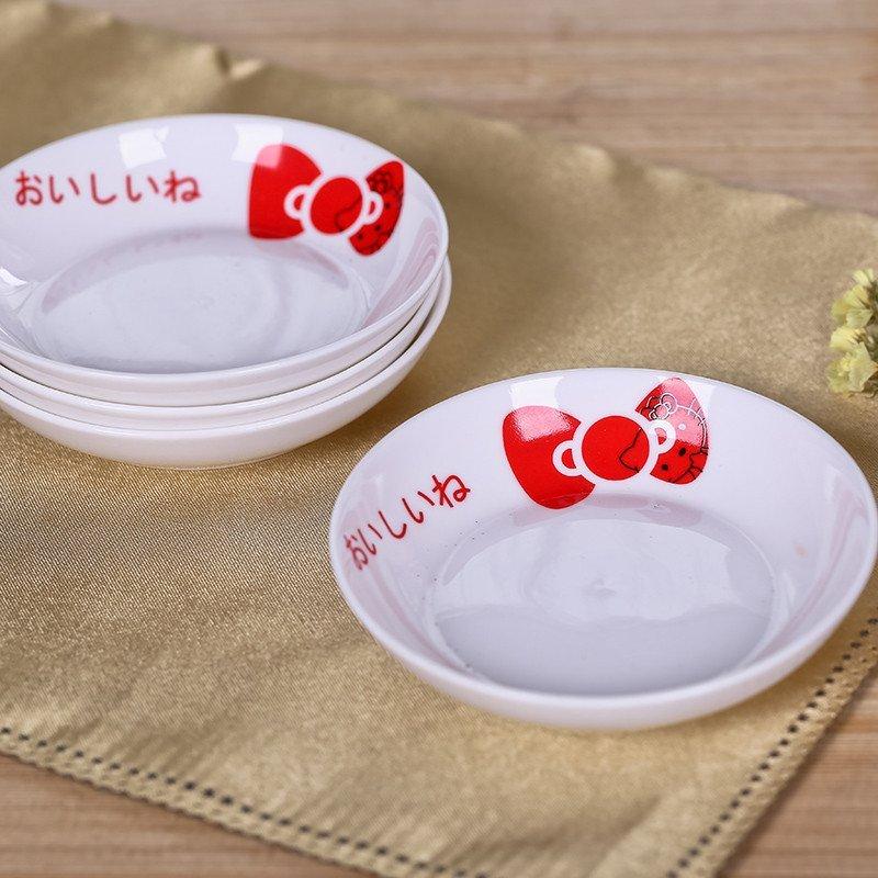 26件 卡通陶瓷餐具创意儿童盘子 家用碗碟陶瓷可爱套装