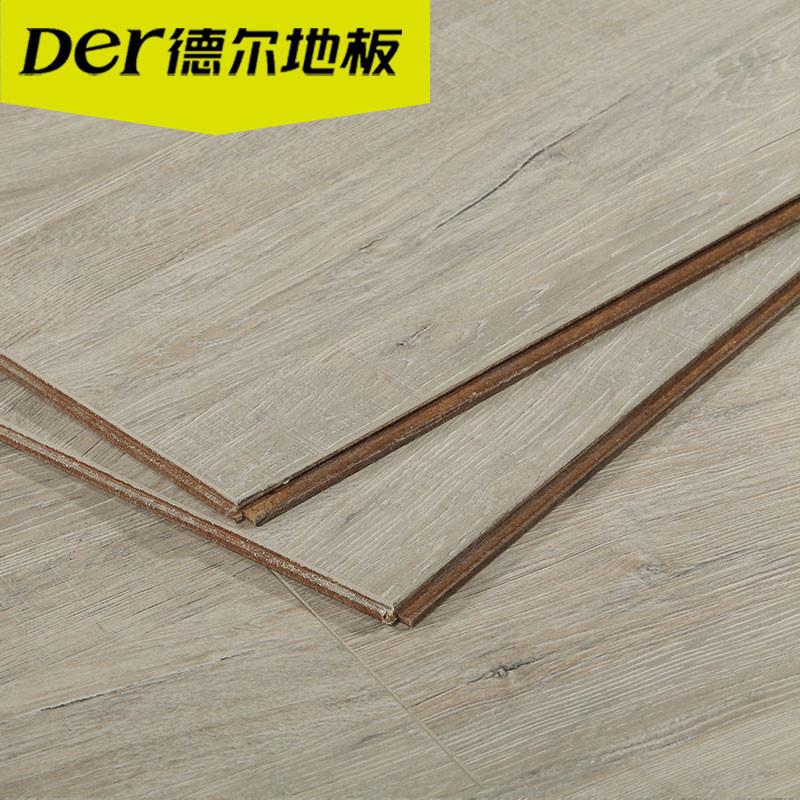 德尔地板强化复合地板无醛芯德系地板dn3001皮卡德的橡木适合地暖