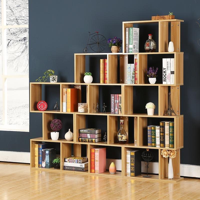 鹿梵 创意书柜书架 个性书柜自由组合储物柜置物架酒柜古董架隔断