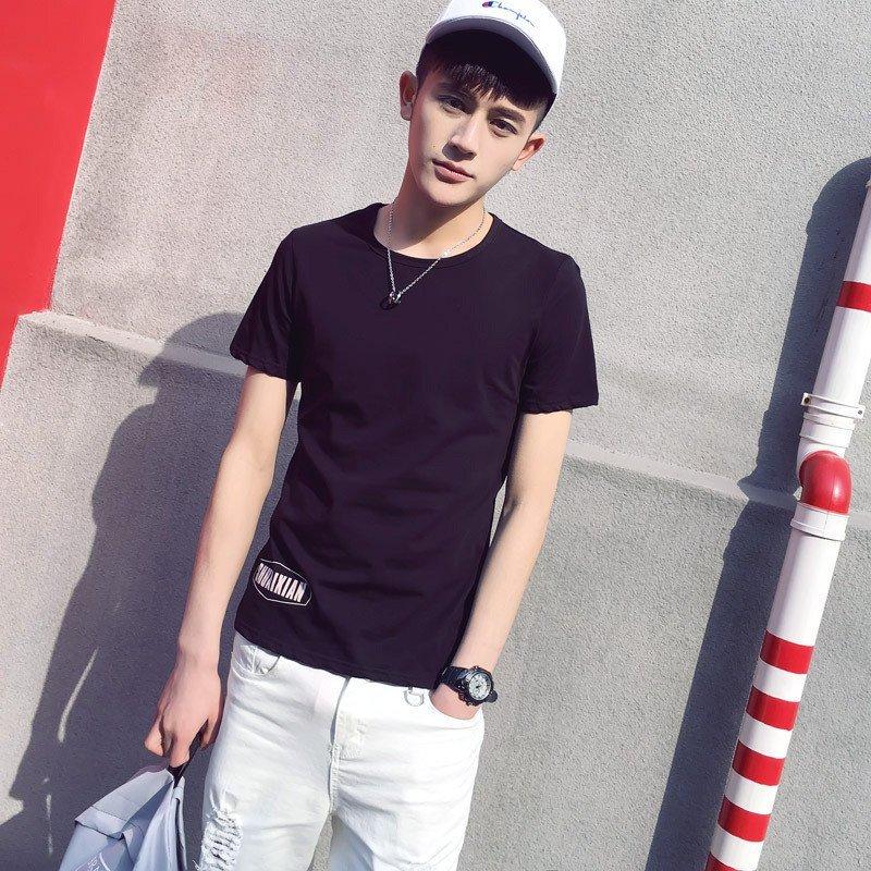 英文字母男生短袖t恤