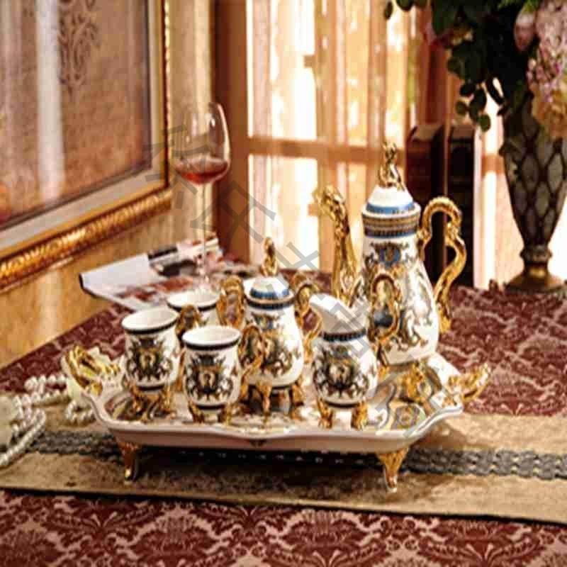 大润窑 欧式茶具套装英式创欧式茶具套装英式创意陶瓷图片