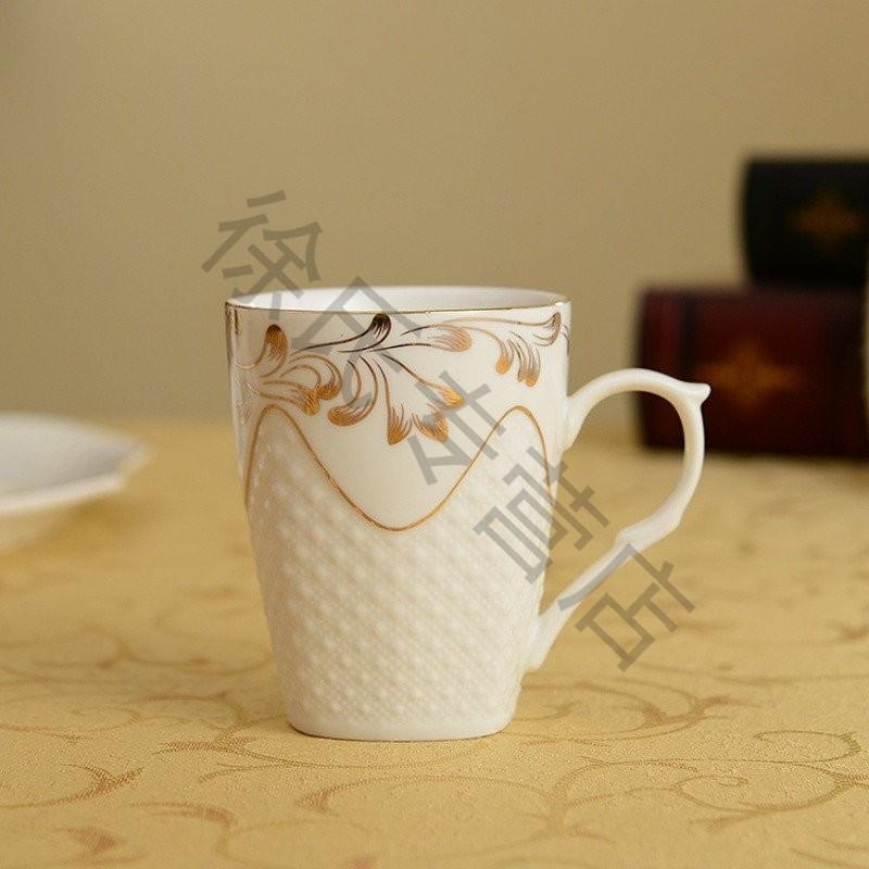 大润窑 陶瓷水杯套装 骨瓷耐热冷水壶 家用凉水壶 创意水具茶具水杯套图片