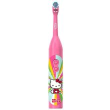 博朗(BRAUN)欧乐B DB3010 儿童电动牙刷 电池款 3岁+ Hello Kitty