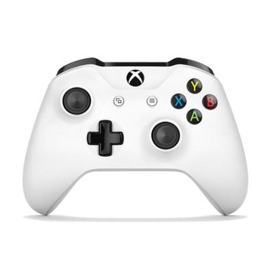 微软 Xbox One S游戏手柄 蓝牙无线控制器 冰雪白