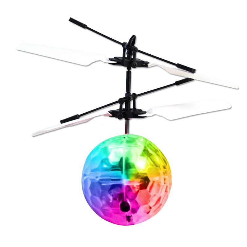 小黄人遥控飞机电动儿童玩具感应飞行器悬浮充电直升机 直升机丨水晶