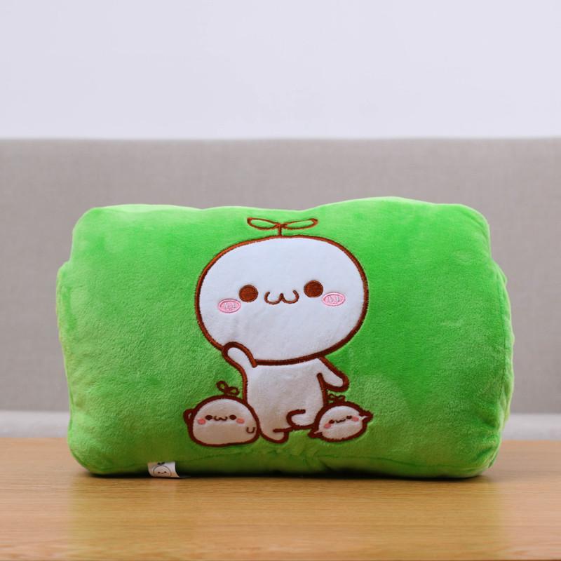 随想曲 插电安全防爆电热暖手宝暖宝宝 靠枕抱枕 卡通可爱电暖袋 送