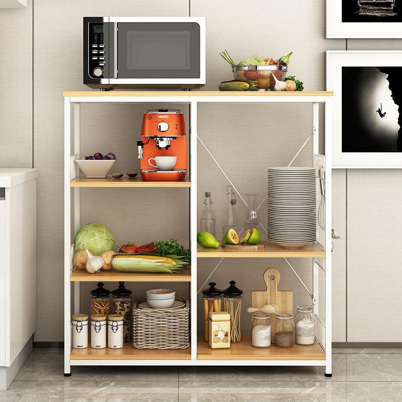 百里香 厨房置物架微波炉架落地厨房用品多层架多功能图片