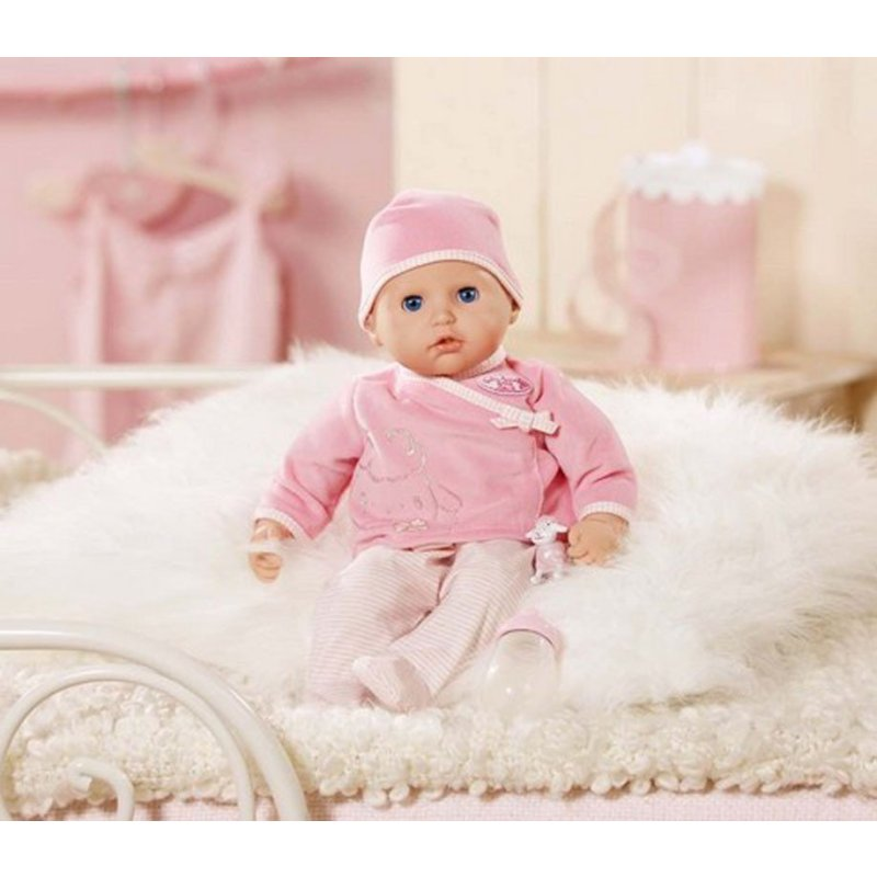 德国zapf夏芙安娜智能发声小宝宝仿真洋娃娃婴儿童会说话女孩电动玩具