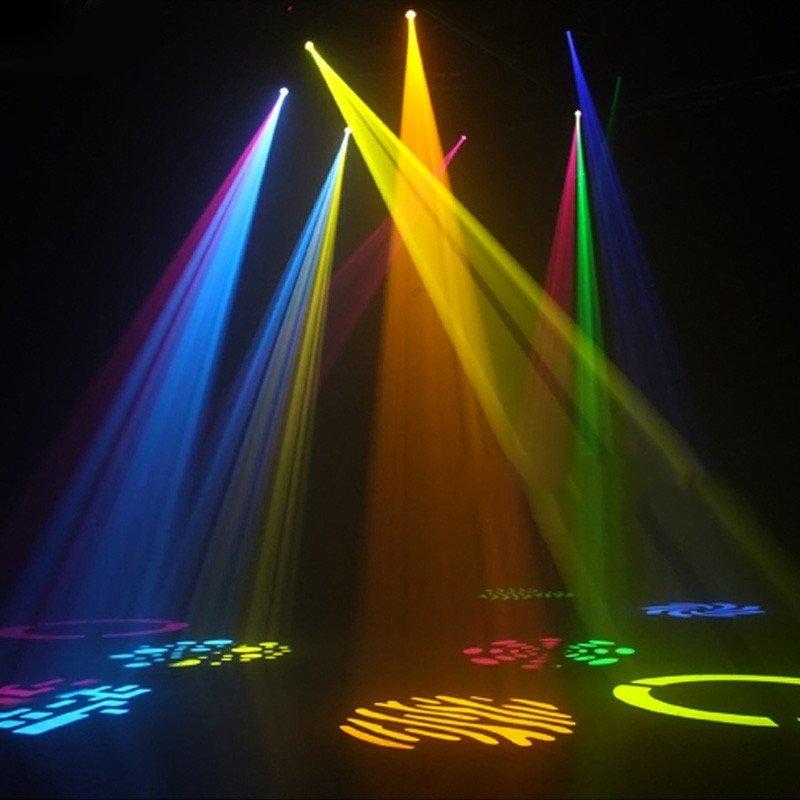 够能耐 60瓦光束图案摇头灯 舞台射灯光束灯 ktv包房酒吧清吧夜场灯光