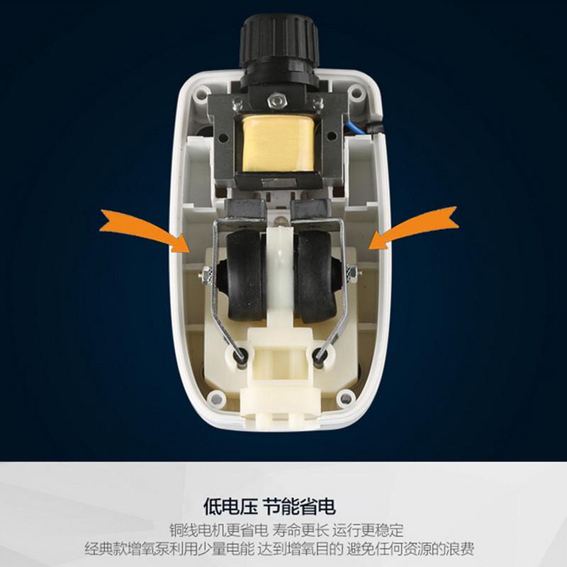 森森静音增氧泵小型增氧机充氧加氧泵鱼缸水族箱养鱼氧气泵打氧