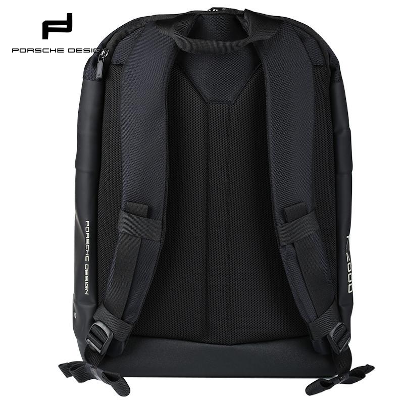 porsche design保时捷 德国男士双肩电脑背包 旅行商务书包 黑色 双肩