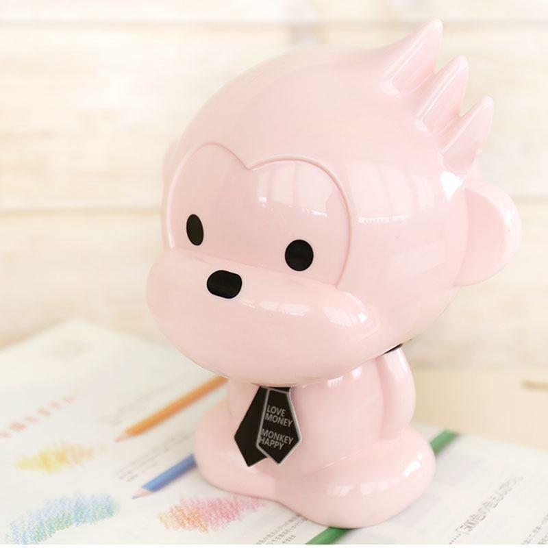 2016猴子存钱罐透明塑料储蓄罐生肖可爱创意零储钱罐儿童生日礼物