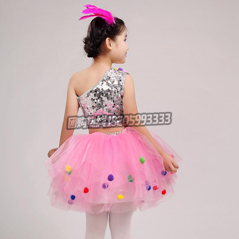 六一儿童演出服幼儿园舞蹈服装女童蓬蓬纱