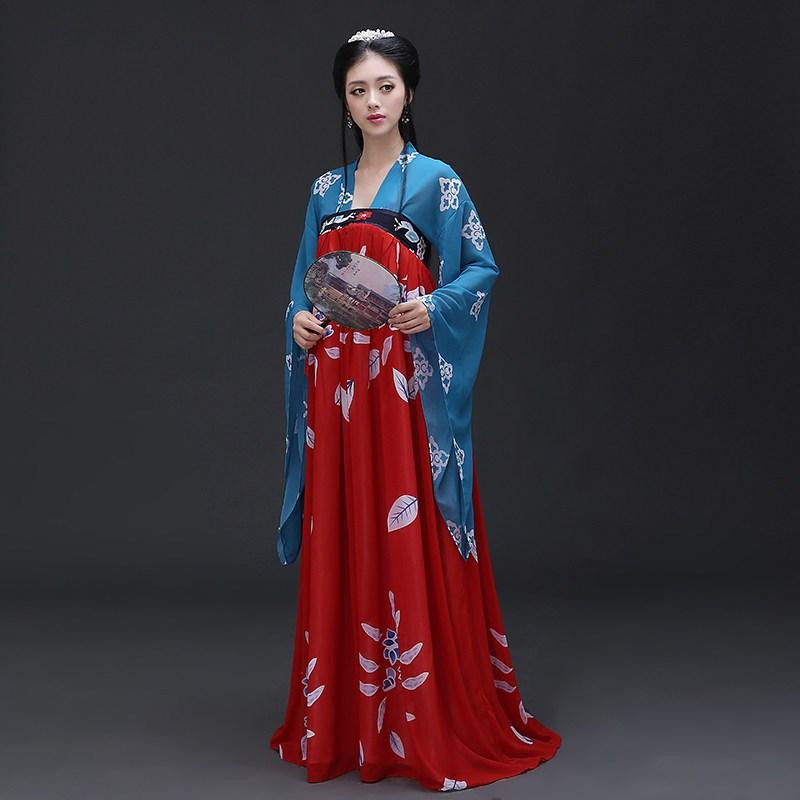 汉服女古装改良女性齐胸襦裙 影楼写真古代演出服 影视同款