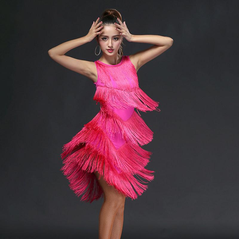 拉丁舞服装演出服
