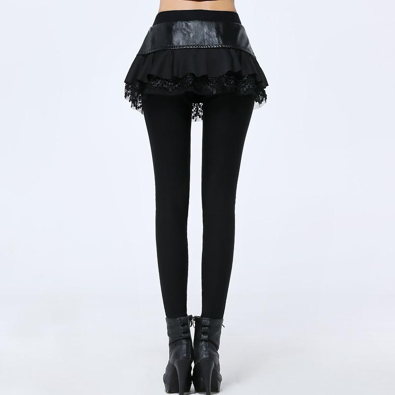 假两件打底裤裙裤薄