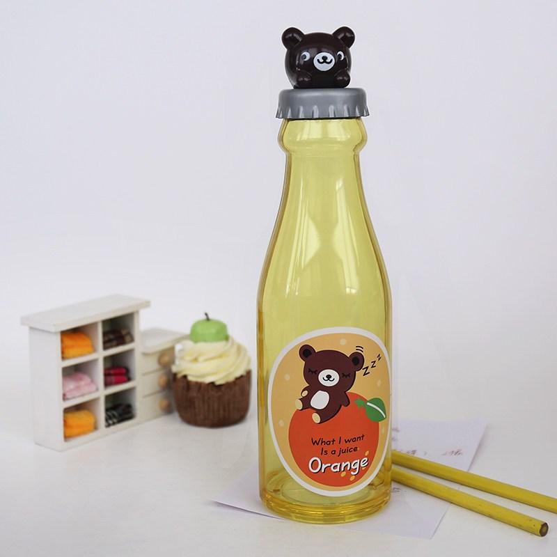 汽水瓶存钱罐儿童节礼物透明储蓄储钱罐创意可爱塑料卡通