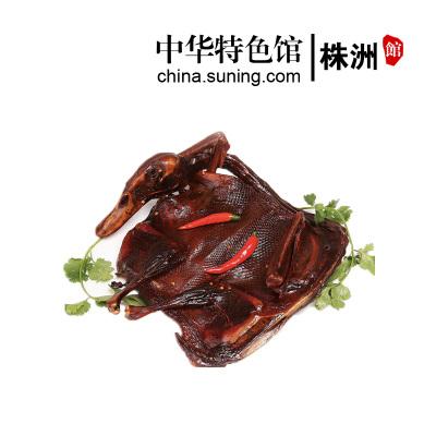 【中华特色】株洲馆 汤妈妈酱板鸭300g 袋装湖南特产香辣鸭肉熟食 毛家食品 华中