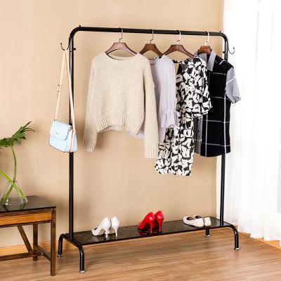 卧室衣架欧式立式挂衣架简约现代收纳衣服架子包邮