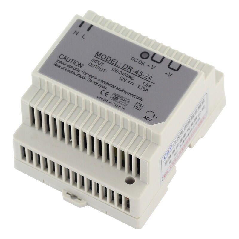 导轨型开关电源监控电源led电源变压器dr-30 24v dr-30w