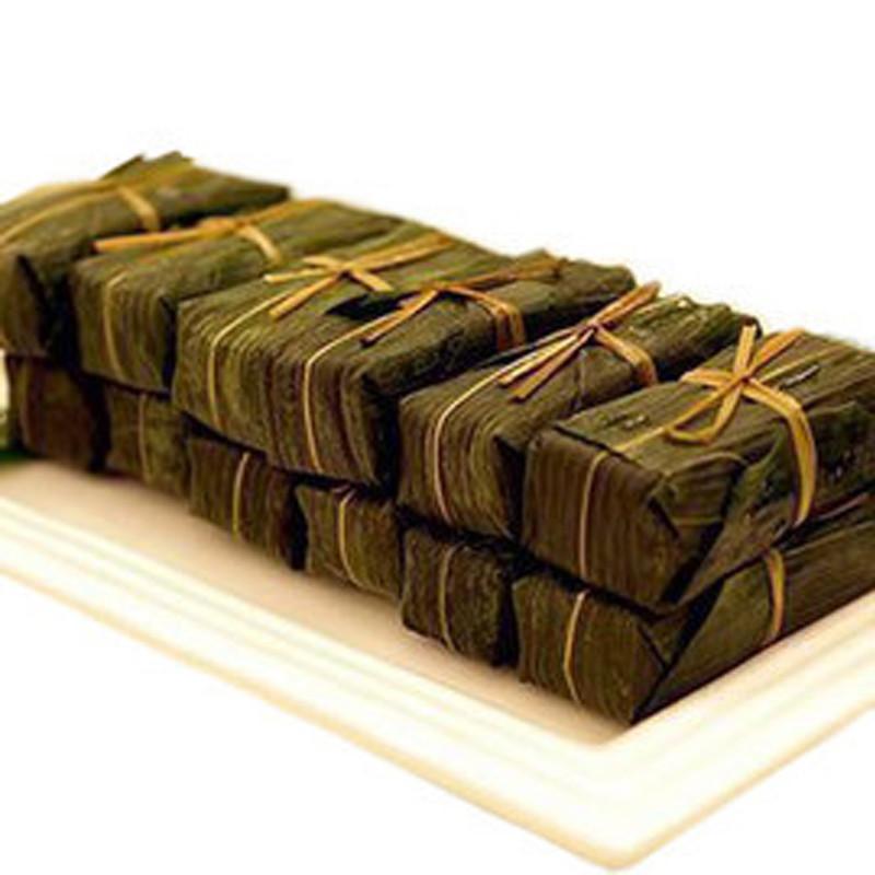 刘姨妈竹叶黄糕粑传统手工糕点糯米糕切糕400g