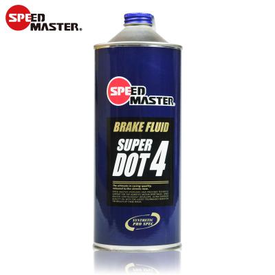 日本進口速馬力(SPEED MASTER)正品全合成剎車油制動液DOT4 1L