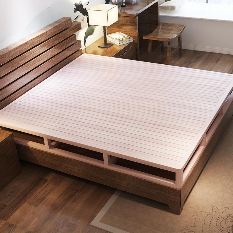 星曦菲 护腰床架 排骨架 床板 实木床 榻榻米 双人床 1.5硬板床1.图片
