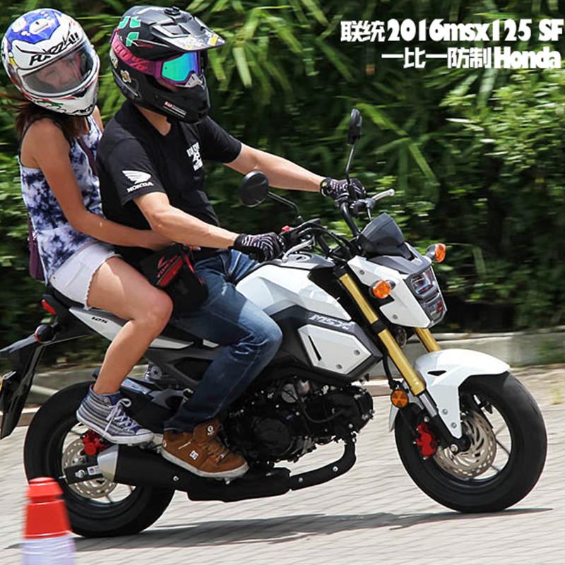 联统大公仔摩托车新款本田大公仔1:1跑车街车公路小猴子全国免运费