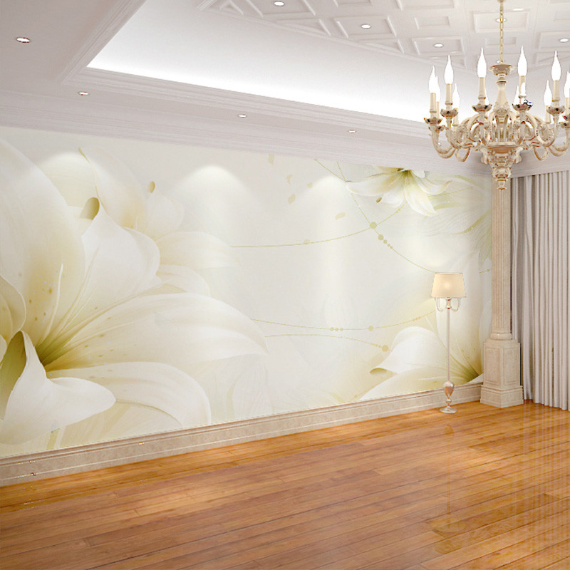 卡茵 现代简约3d立体客厅电视背景墙纸无缝墙布卧室壁纸影视墙大型