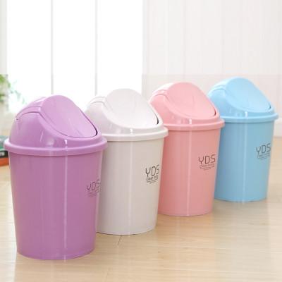 垃圾分类垃圾筒摇盖式垃圾桶欧式时尚家用厨房卫生间