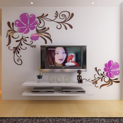 客廳臥室房間影視墻裝飾貼畫-黑