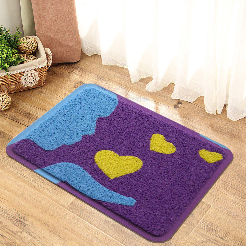 卡通地毯进门脚垫入户门垫卧室地垫厨房卫生间浴室丝圈防滑垫