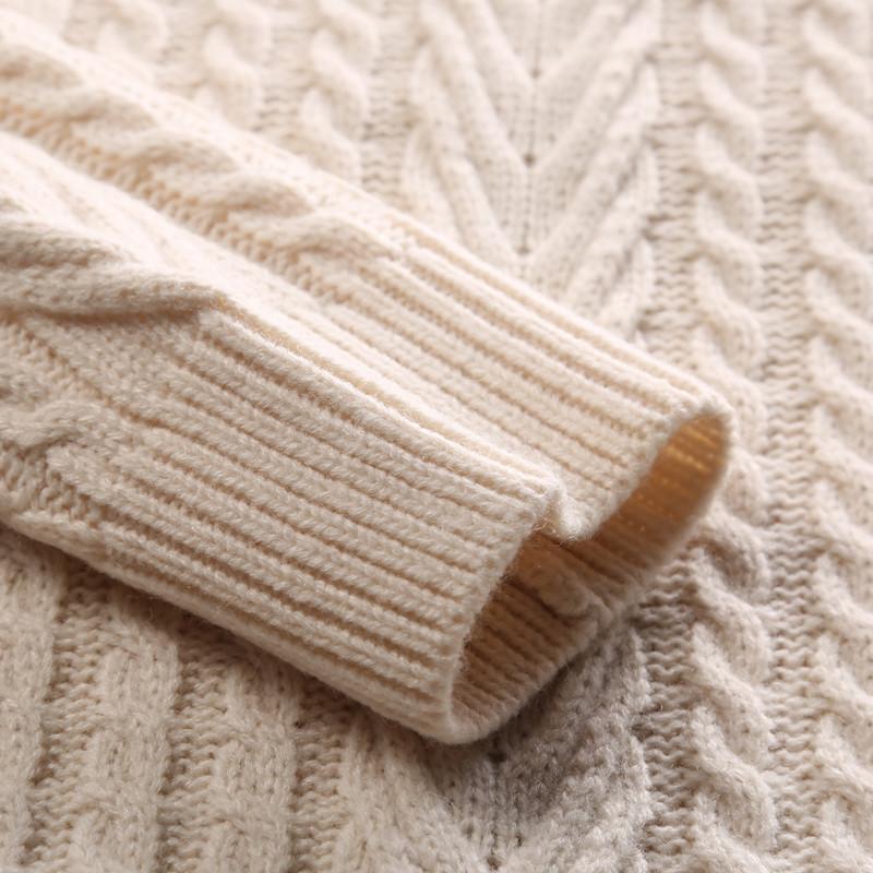 秋冬季英伦风男士毛衣编织花纹多色羊毛衫保温修身潮流韩版套头 8938