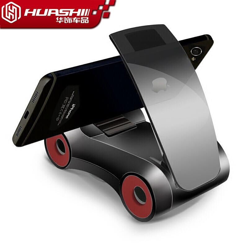 卡骑仕车载手机架汽车手机支架创意摆件手机导航支撑架车用仪表台粘贴