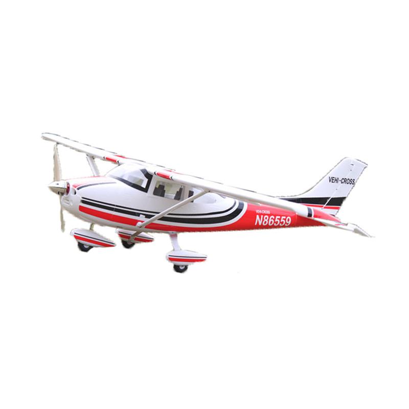 87米遥控飞机塞斯纳182教练机整机带襟翼