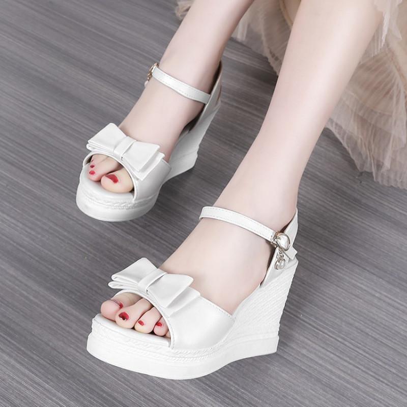 凉鞋厚底学生女韩版