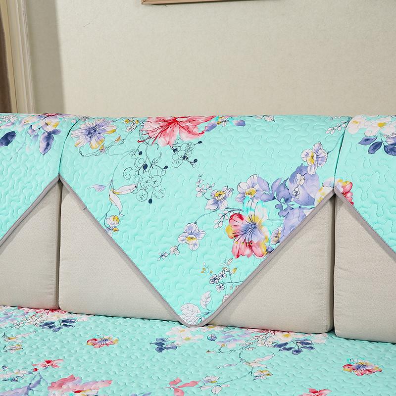 订做定制沙发布沙发罩全盖沙发床套欧式现代老式折叠三人防滑床笠式