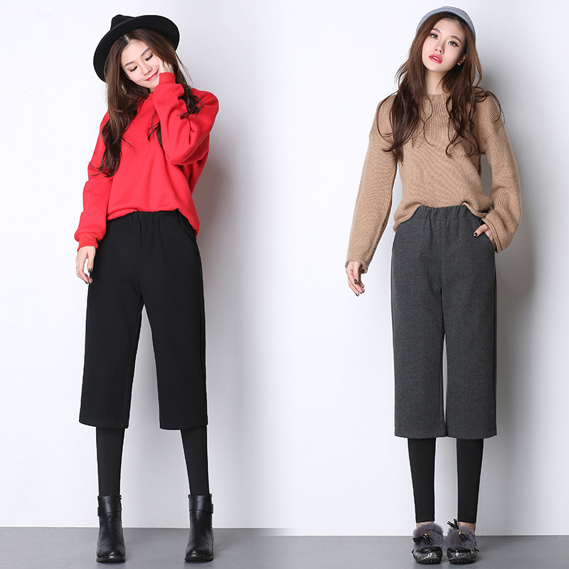 两件套打底裤