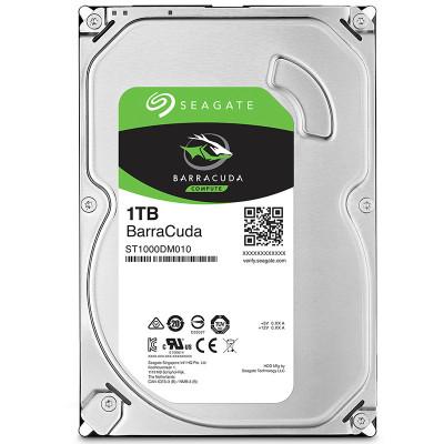 希捷(Seagate)酷鱼系列 1TB 7200转64M SATA3 台式机硬盘(ST1000DM010)