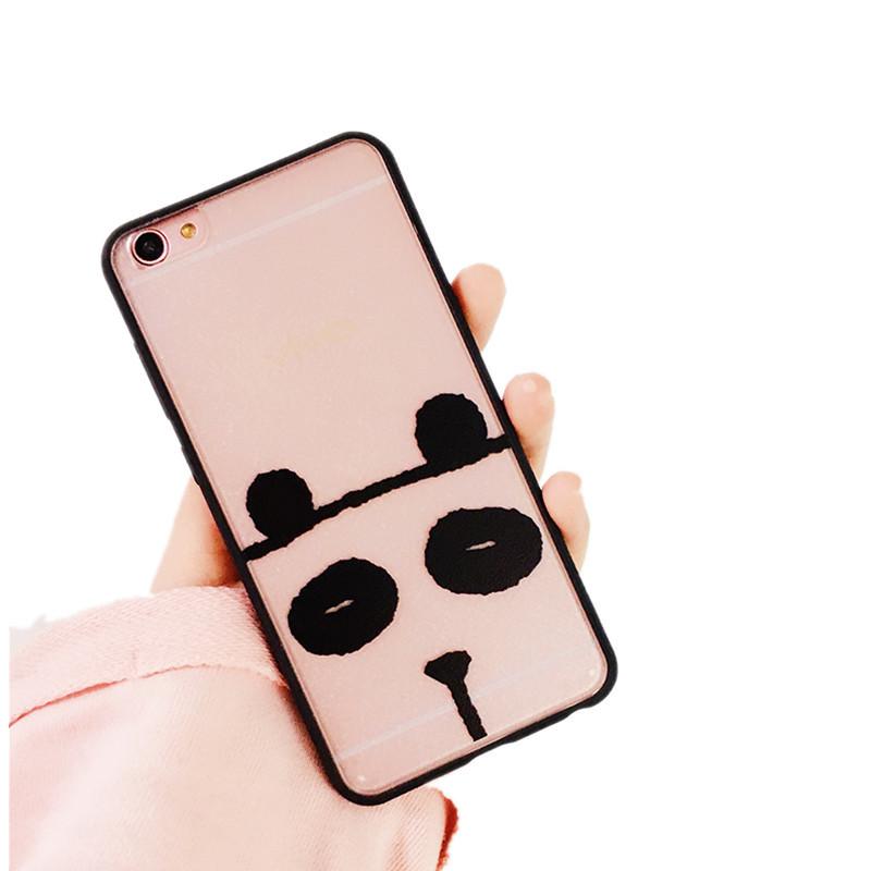 luphie 可爱卡通动物表情oppor9s手机壳r9/plus软壳创意个性透明日韩
