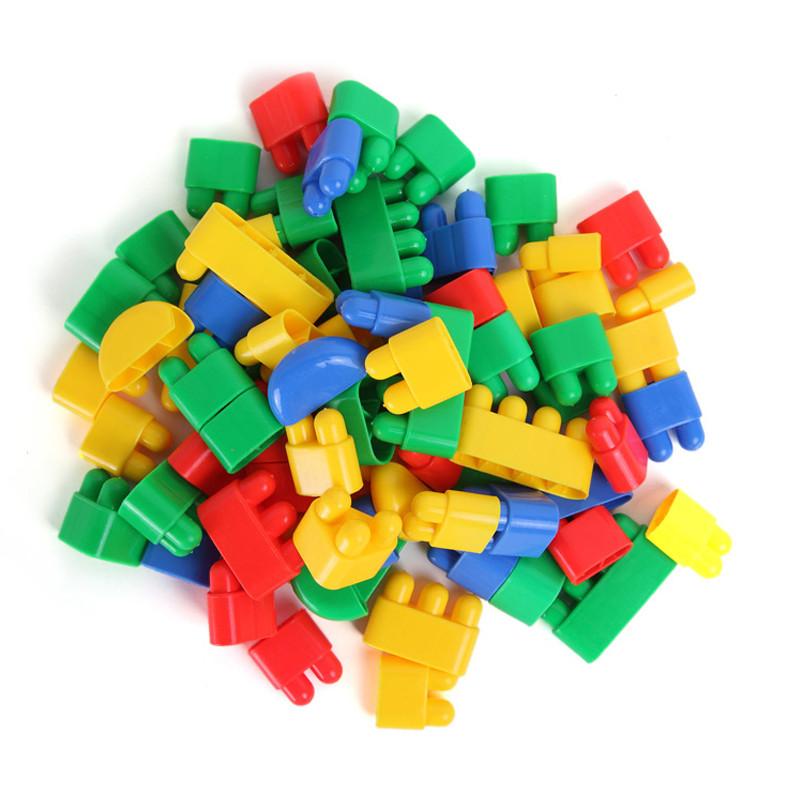 育家启慧 启慧建构雪花片 管道 扣环积木 塑料拼插拼装积木幼儿园玩具