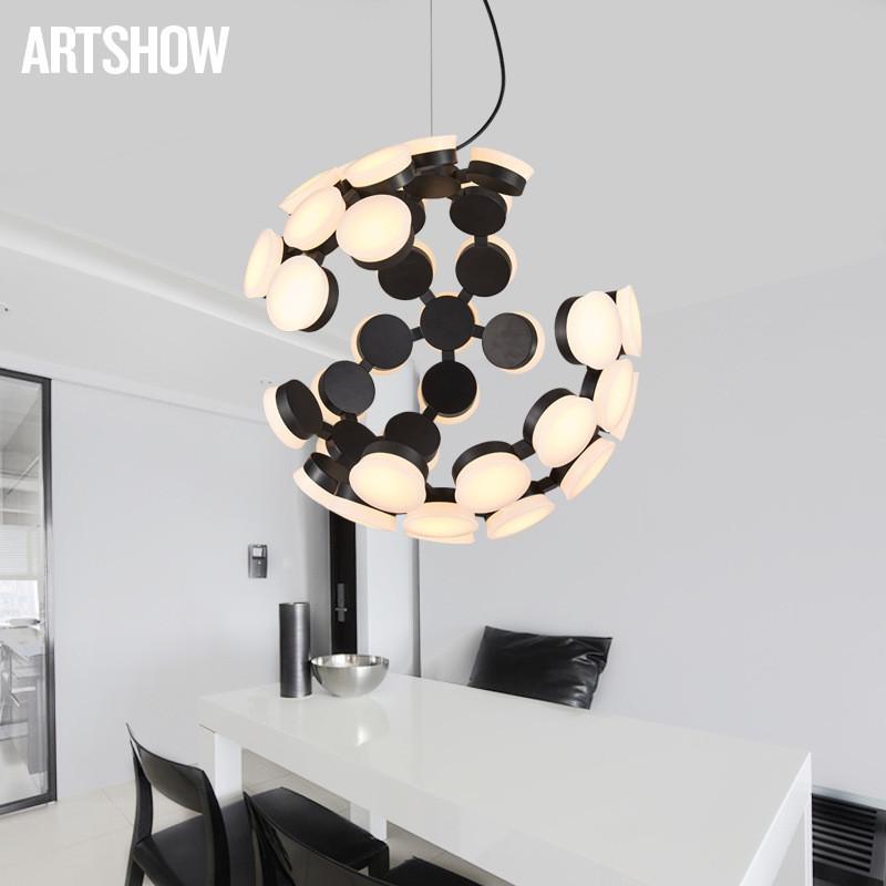 昂秀北欧后现代简约创意个性艺术吊灯 设计师客厅餐厅图片