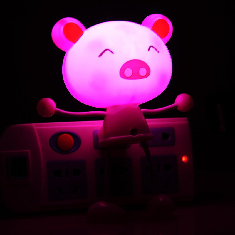 小壁灯插座夜灯节能可爱