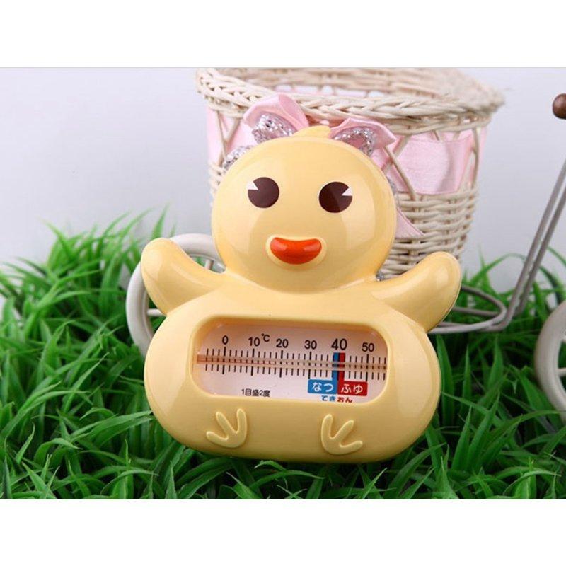小鸡卡迪温度计 可爱小鸡宝宝卡通造型带冷热提醒