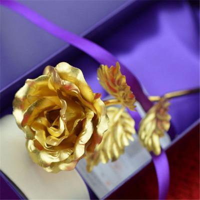 帝唐尚品金24k金箔玫瑰花康乃馨母親節送媽媽創意生日禮物女生女友閨蜜實用禮品