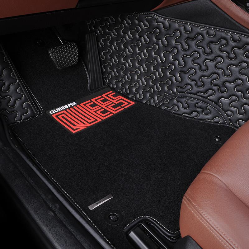 乔氏龙纹脚垫全包围汽车脚垫专用于现代大众起亚汉兰达科鲁兹福特本田