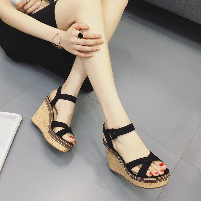 凉鞋罗马日系女