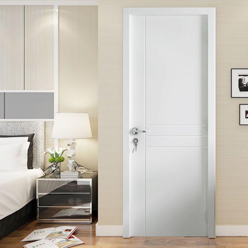 塞纳春天 木门卧室门室内门套装门 实木复合烤漆门房门 snct-143实木