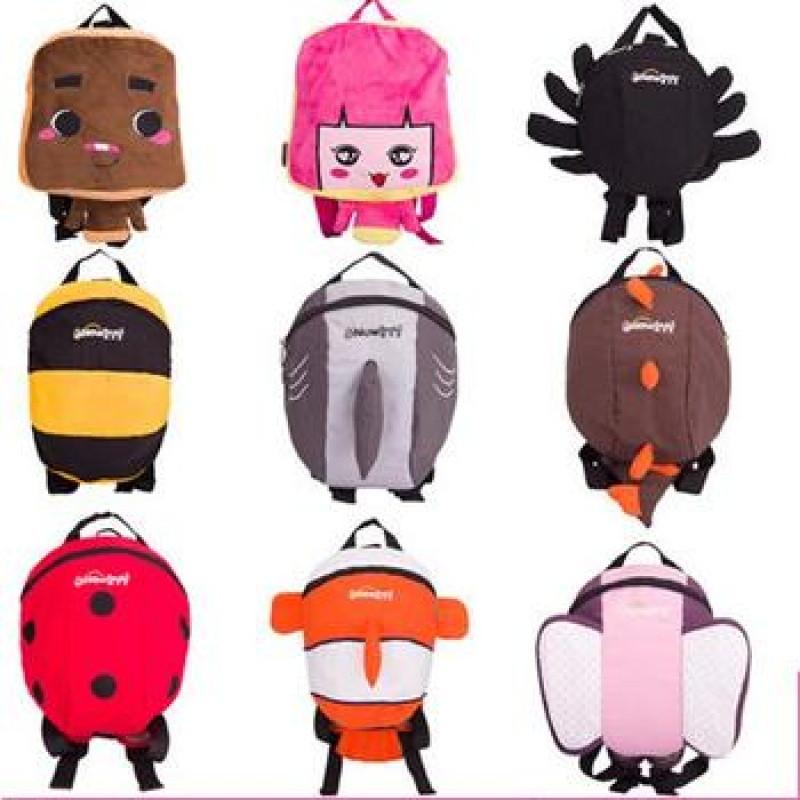 1-3岁男女童小孩卡通可爱双肩背包 儿童宝宝包包 幼儿